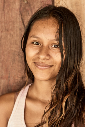 Cynthia - Mishana Girl at the Mishana Community - Casa Galactica