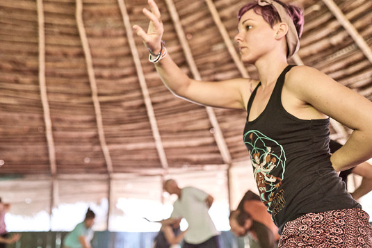 Healing the Kidneys in a Qi Gong Class With Michael - Authentic Ayahausca Plant Spirit Healing Retreat & Noya Rao Initaiton Dietas Peru
