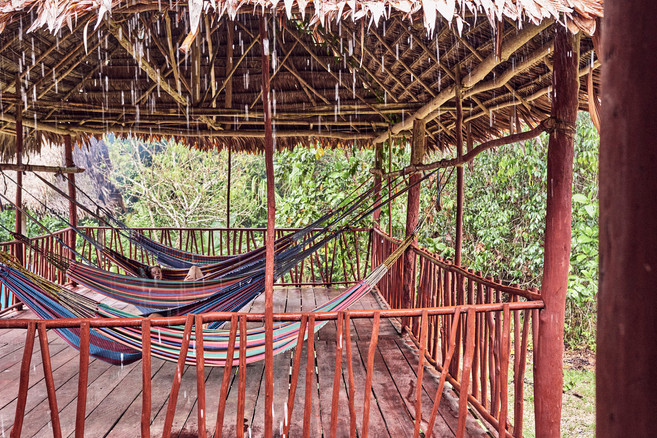 Hammocks - Relax in the Jungle While You Integrate Your Ayahuasca Ceremony Experiences - Casa Galactica