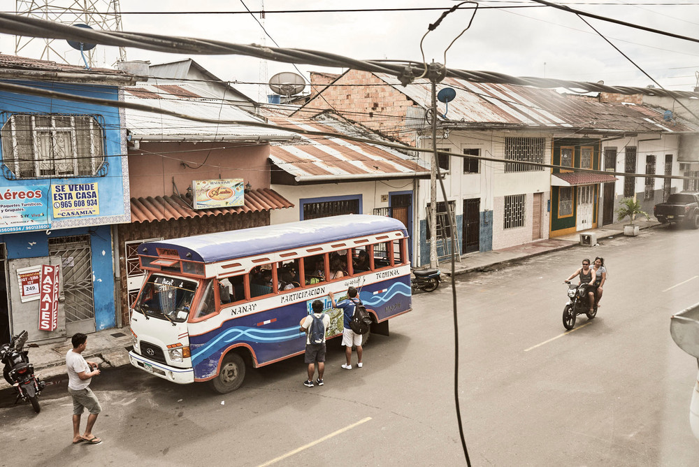 Local Bus in Iquitos - Exploring Iquitos like a local and cheaply! Casa Galactica