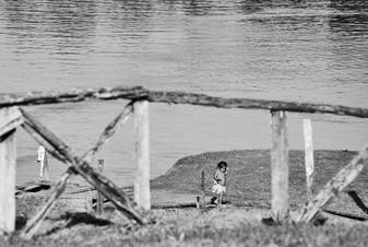 Banks of the Mishana Community - Rural Community in the Amazon Rainforest - Casa Galactica Ayahuasca Retreats & Dietas