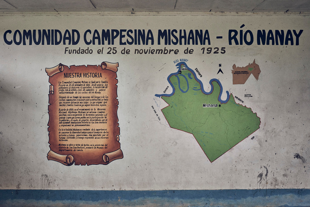 The Mishana Community - Community Hall - Amazon Rainforest - Casa Galactica Ayahuasca Retreats & Dietas