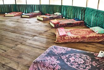 Comfortable Mattresses in the Maloca - Help Keeping You Comfortable in Ayahuasca Ceremonies - Casa Galactica