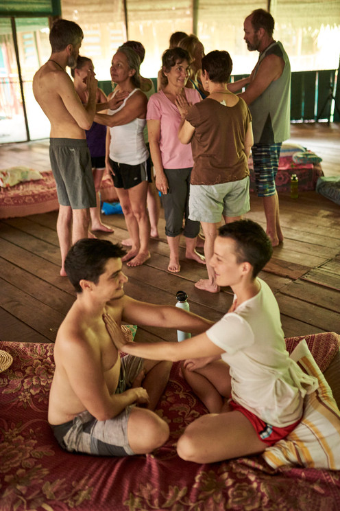Integrating Ayahausca Experiences on  Ayahuasca Retreat at Casa Galactica