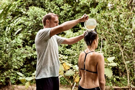 Love Bath - Traditional Shipibo Plant Medicine Treatment - Casa Galactica - Ayahuasca Plant Spirit Healing Retreat