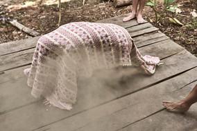 Clearing Negative Beliefs and Energies With Plant Medicine - Palo Santo Smoke Bath - Ayahuasca Healing Retreat Peru