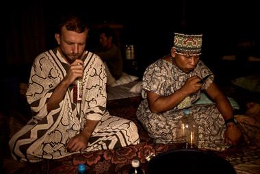 Shipibo Tradition - Ayahuasca Ceremony Preparation - 2 Week Ayahuasca Plant Spirit HEaling Retreat - Casa Galactica