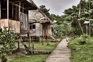 Mishana Community Houses - the Homes of the Local Mishana Community on the Path to Chamisal Retreat Center - Casa Galactica