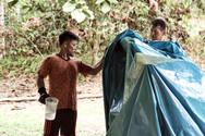 More Water Please!- Urias Shipibo Curandero Helping at the Saunas - Casa Galactica - Ayahuasca Plant Spirit Healing Retreat