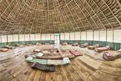 Maloca (Ceremony Space) - Casa Galactica - Chamisal Healing & Retreat Center - Ayahuasca Plant Spirit Healing Retreats & Noya Rao Initiation Dietas