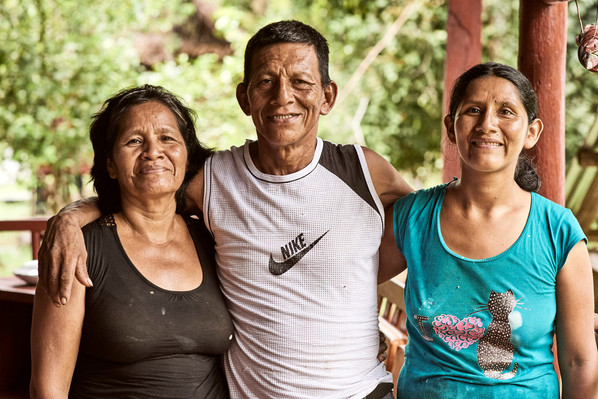 Juana, Pedro and Mixie - An Ayahausca Retreat Center Run with Love and Care! - Casa Galactica