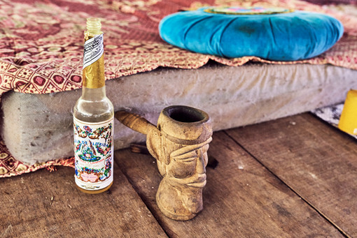 Homemade Natural Agua Florida and Noya Rao Pipe - Shamanic Tools That Support Your Plant Medicine Experiences