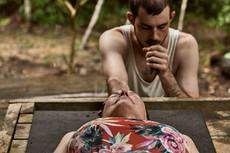 Patrick Giving and Energy Clearing After a Sauna (Soplay or Soplada) - Shipibo Tradition of Curanderismo - Ayahuasca Retreat