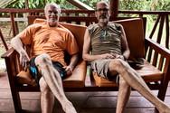 Participants Relaxing on Our 2 Week Ayahuasca Plant Spirit Healing Retreat - Casa Galactica