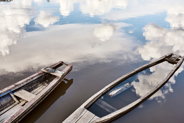 Boats at the Mishana Community - Ayahuasca Retreat Peru - Casa Galactica - Reflections