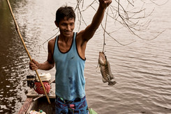 Learn to Fish With Indigenous Mishana Fisherman on Our Ayahuasca Plant Spirit Healing Retreats
