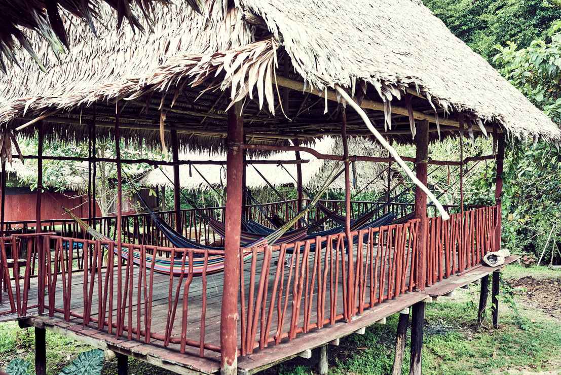 Hammocks - Socialize in the Amazon Jungle While You Integrate Your Plant Medicine Experiences - Casa Galactica