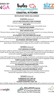 Naples Coastal Kitchen - DINNER