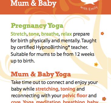 Pregnancy Yoga | Mum & Baby Yoga in Rush and Donabate Summer 2015