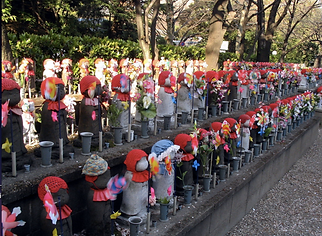 Japanese Jizo Dolls