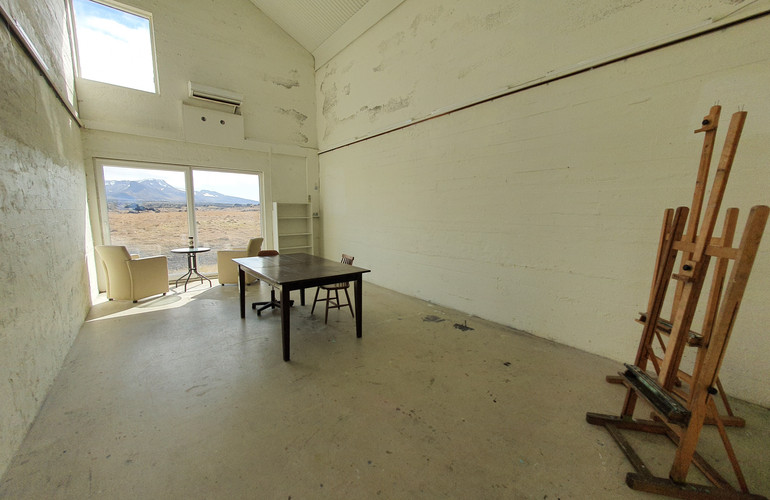 Downstairs Double-Heightened Studio Space