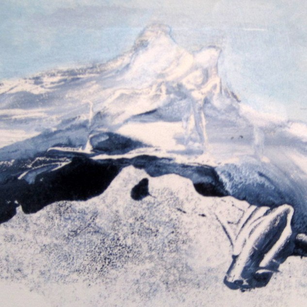 Monotypes - Elva Art - Elva Hreiðarsdóttir