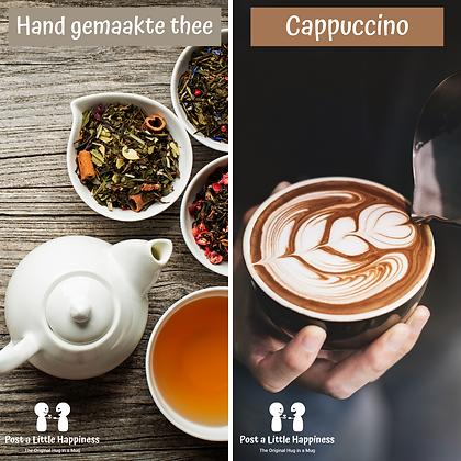 Cappuccino+brownie/Tea+Blondie