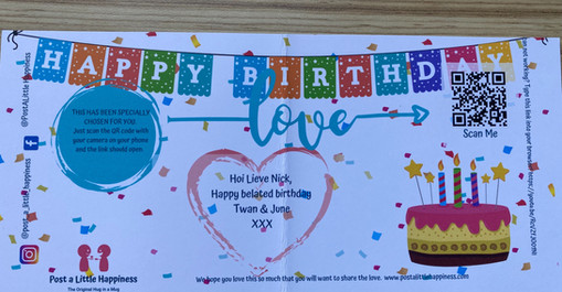 happy birthday front of card post a little happiness.jpg