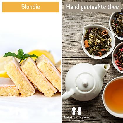 Celebrate-Handmade Tea/Lemon Blondie