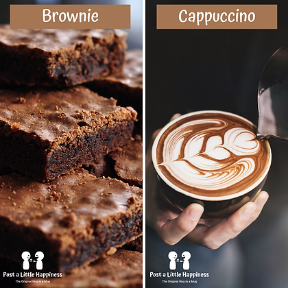 Birthday Hug-Cappuccino/Brownie