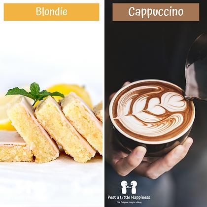 Birthday Hug -Cappuccino/Lemon Blondie