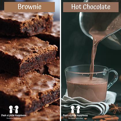 Celebrate - Hot chocolate/Brownie