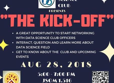 Data Science Club Kick-Off 2018