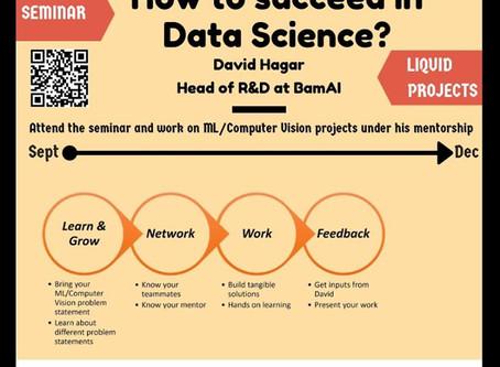 [Seminar] How to Succeed in Data Science by David Hagar
