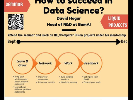 [Seminar] How to Succeed in Data Science by David Hagar