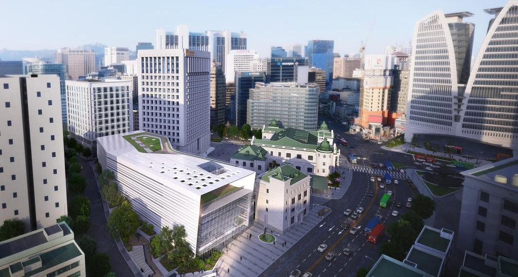 Bank Of Korea H.Q.