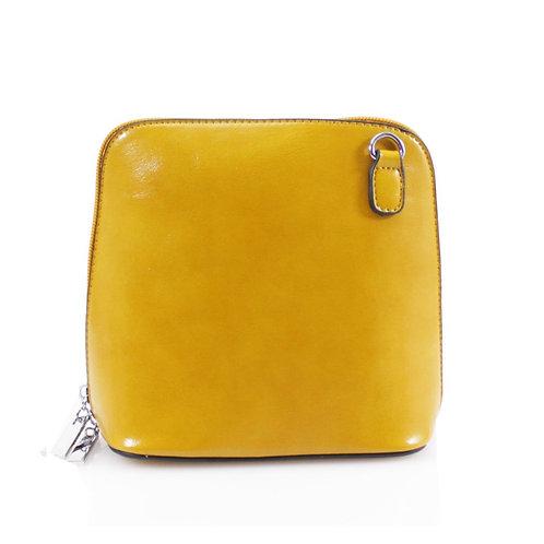 Cross-body Handbag - Mustard