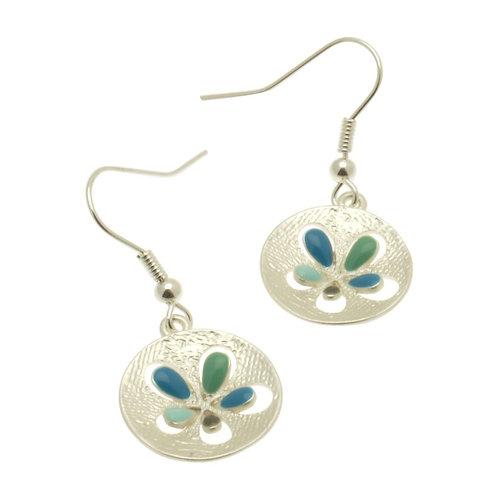 Aqua Popout Earrings