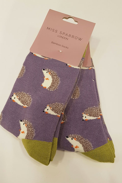 Hedgehog Bamboo Socks