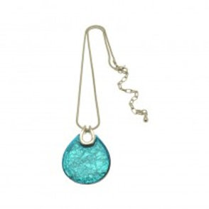 Miss Milly Teardrop Necklace - Blue
