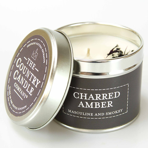Charred Amber Scented Candle