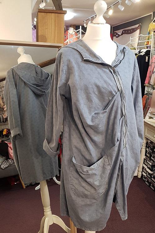 Italian Hooded Cotton Jacket