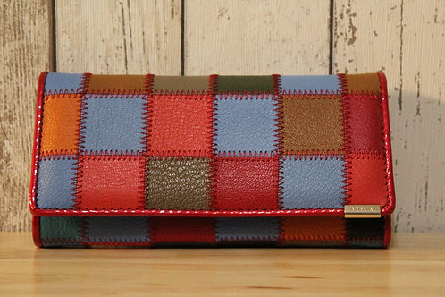Colour Patchwork Purse