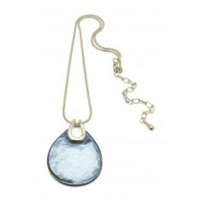Miss Milly Teardrop Necklace - Grey