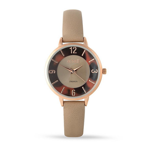 Jasmine Watch - Tan