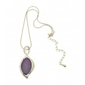 Miss Milly Purple Swan Necklace