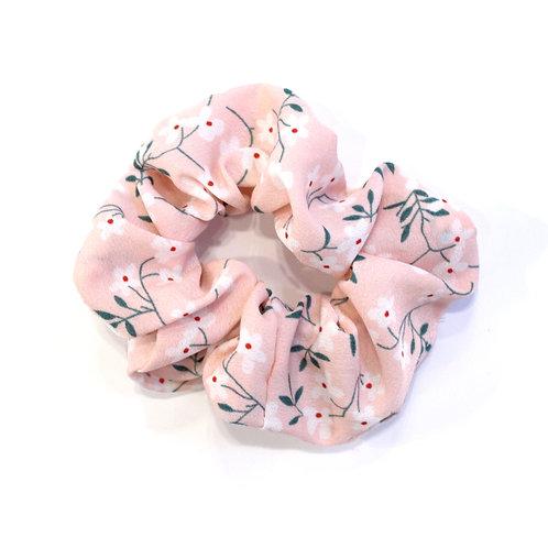 Floral Scrunchie - Pink