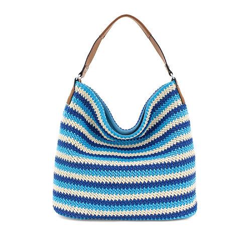 Straw Boho Beach Bag