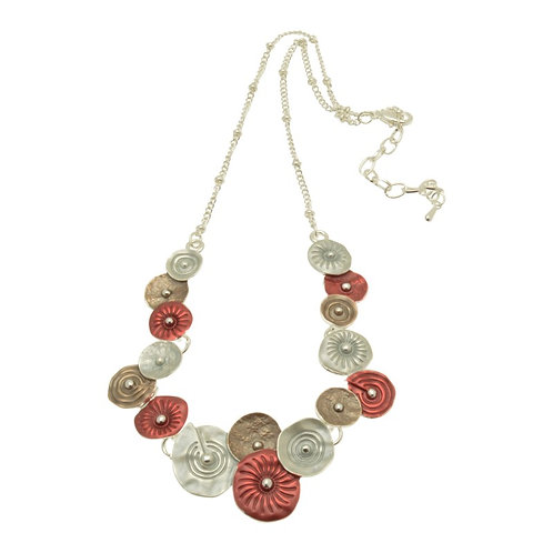 Red & Mocha Necklace