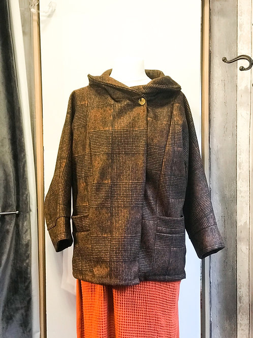 Rust Patterned Coat